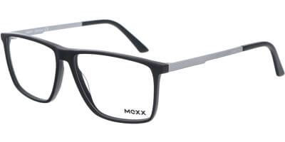 Dioptrické brýle MEXX model 2535, barva obruby černá mat, stranice šedá mat, kód barevné varianty 100.