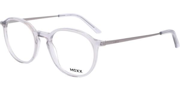 Dioptrické brýle MEXX model 2536, barva obruby čirá lesk, stranice šedá mat, kód barevné varianty 400.