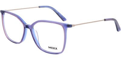 Dioptrické brýle MEXX model 2541, barva obruby fialová lesk, stranice zlatá lesk, kód barevné varianty 200.