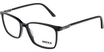 Dioptrické brýle MEXX model 2546, barva obruby černá lesk, stranice černá lesk, kód barevné varianty 100.