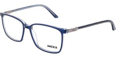 Dioptrické brýle MEXX model 2546, barva obruby modrá lesk, stranice modrá lesk, kód barevné varianty 200.
