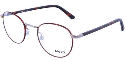 Dioptrické brýle MEXX model 2716, barva obruby hnědá lesk, stranice hnědá mat, kód barevné varianty 100.