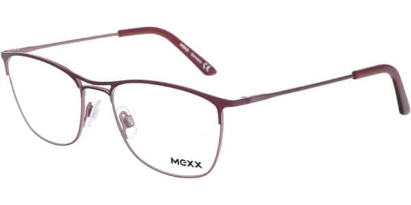 Dioptrické brýle MEXX model 2726, barva obruby červená mat, stranice červená mat, kód barevné varianty 400.