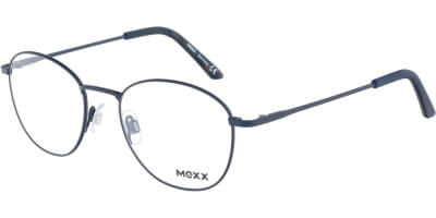 Dioptrické brýle MEXX model 2727, barva obruby modrá mat, stranice modrá mat, kód barevné varianty 400.