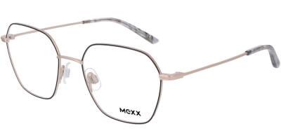 Dioptrické brýle MEXX model 2755, barva obruby černá zlatá mat, stranice zlatá mat, kód barevné varianty 400.