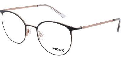 Dioptrické brýle MEXX model 2763, barva obruby černá béžová mat, stranice černá béžová mat, kód barevné varianty 100.