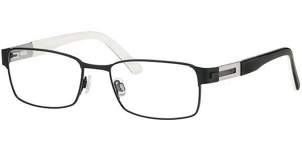 Dioptrické brýle MEXX model 5151, barva obruby černá mat, stranice stříbrná lesk, kód barevné varianty 100.