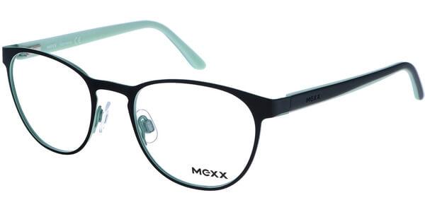 Dioptrické brýle MEXX model 5168, barva obruby černá zelená lesk, stranice hnědá zelená mat, kód barevné varianty 100.