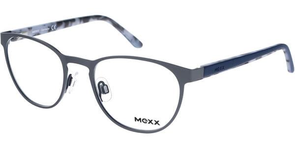 Dioptrické brýle MEXX model 5168, barva obruby šedá mat, stranice šedá mat, kód barevné varianty 400.