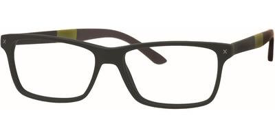 Dioptrické brýle MEXX model 5315, barva obruby černá mat, stranice černá zelená mat, kód barevné varianty 400.