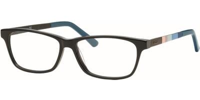 Dioptrické brýle MEXX model 5331, barva obruby hnědá lesk, stranice hnědá modrá mat, kód barevné varianty 400.