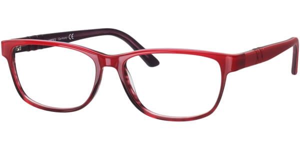 Dioptrické brýle MEXX model 5334, barva obruby červená vínová lesk, stranice červená mat, kód barevné varianty 100.