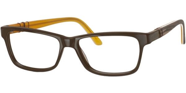 Dioptrické brýle MEXX model 5335, barva obruby hnědá lesk, stranice hnědá žlutá mat, kód barevné varianty 200.