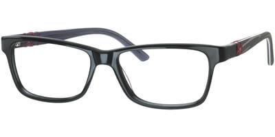 Dioptrické brýle MEXX model 5335, barva obruby černá lesk, stranice černá šedá mat, kód barevné varianty 300.