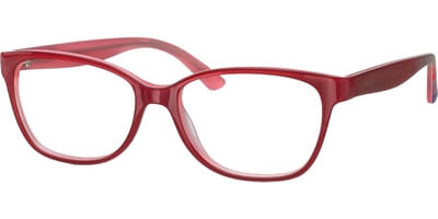 Dioptrické brýle MEXX model 5345, barva obruby červená lesk, stranice červená zelená lesk, kód barevné varianty 100.