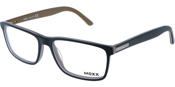Dioptrické brýle MEXX model 5353, barva obruby černá hnědá mat, stranice černá hnědá mat, kód barevné varianty 100.