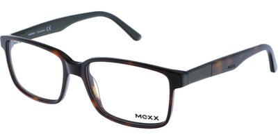 Dioptrické brýle MEXX model 5357, barva obruby hnědá lesk, stranice hnědá lesk, kód barevné varianty 400.
