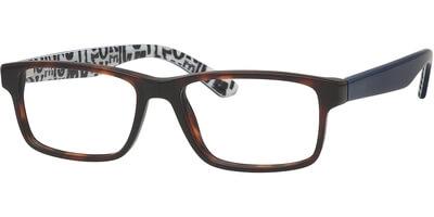 Dioptrické brýle MEXX model 5642, barva obruby hnědá lesk, stranice modrá lesk, kód barevné varianty 200.