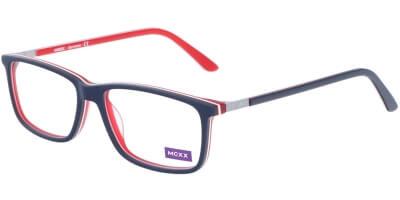 Dioptrické brýle MEXX model 5668, barva obruby modrá červená mat, stranice modrá červená mat, kód barevné varianty 100.
