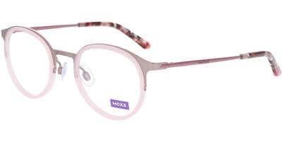 Dioptrické brýle MEXX model 5938, barva obruby růžová mat, stranice růžová lesk, kód barevné varianty 200.