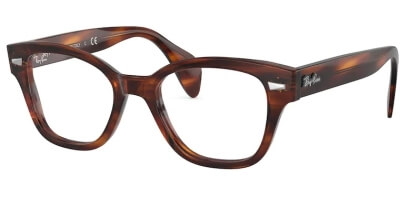 Dioptrické brýle Ray-Ban® model 0880, barva obruby hnědá lesk, stranice hnědá lesk, kód barevné varianty 2144.