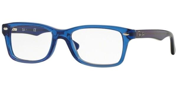 Dioptrické brýle Ray-Ban® model 1531, barva obruby modrá čirá lesk, stranice modrá lesk, kód barevné varianty 3647.