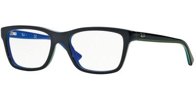 Dioptrické brýle Ray-Ban® model 1536, barva obruby šedá modrá lesk, stranice šedá modrá lesk, kód barevné varianty 3600.