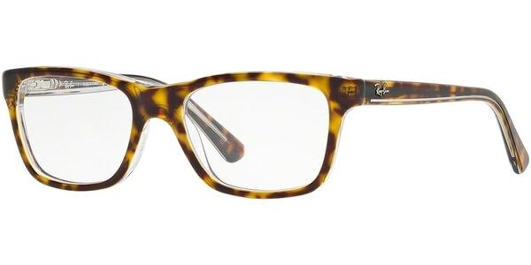 Dioptrické brýle Ray-Ban® model 1536, barva obruby hnědá čirá lesk, stranice hnědá čirá lesk, kód barevné varianty 3602.