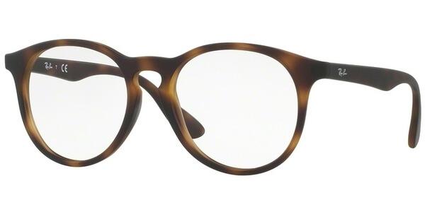 Dioptrické brýle Ray-Ban® model 1554, barva obruby hnědá mat, stranice hnědá mat, kód barevné varianty 3616.