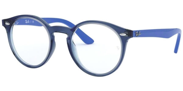 Dioptrické brýle Ray-Ban® model 1594, barva obruby modrá čirá lesk, stranice modrá lesk, kód barevné varianty 3811.