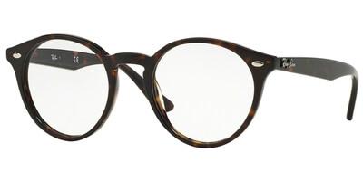 Dioptrické brýle Ray-Ban® model 2180V, barva obruby hnědá lesk, stranice hnědá lesk, kód barevné varianty 2012.