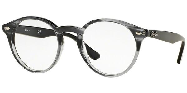 Dioptrické brýle Ray-Ban® model 2180V, barva obruby šedá lesk, stranice šedá lesk, kód barevné varianty 5571.