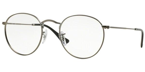 Dioptrické brýle Ray-Ban® model 3447V, barva obruby stříbrná mat, stranice stříbrná mat, kód barevné varianty 2620.