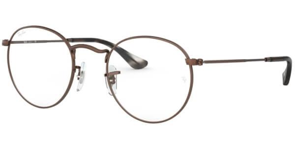 Dioptrické brýle Ray-Ban® model 3447V, barva obruby hnědá lesk, stranice hnědá lesk, kód barevné varianty 3074.