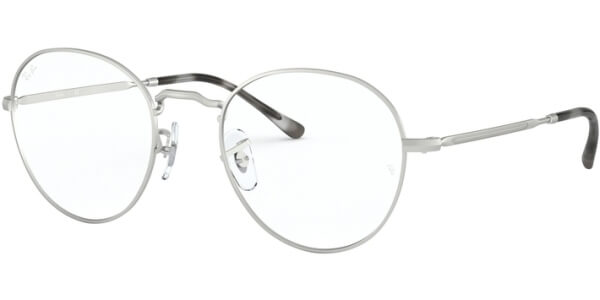 Dioptrické brýle Ray-Ban® model 3582V, barva obruby stříbrná mat, stranice stříbrná mat, kód barevné varianty 2538.