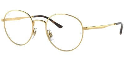 Dioptrické brýle Ray-Ban® model 3681V, barva obruby zlatá lesk, stranice zlatá lesk, kód barevné varianty 2500.