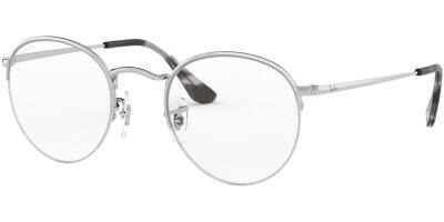 Dioptrické brýle Ray-Ban® model 3947V, barva obruby stříbrná lesk, stranice stříbrná lesk, kód barevné varianty 2501.