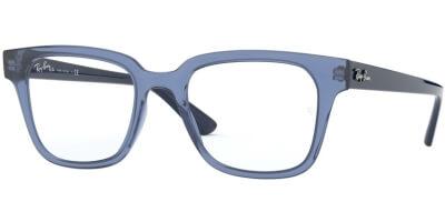 Dioptrické brýle Ray-Ban® model 4323V, barva obruby modrá čirá lesk, stranice modrá čirá, kód barevné varianty 5941.