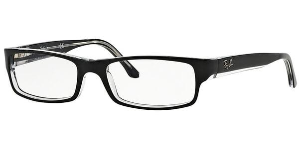 Dioptrické brýle Ray-Ban® model 5114, barva obruby černá čirá lesk, stranice černá čirá lesk, kód barevné varianty 2034.