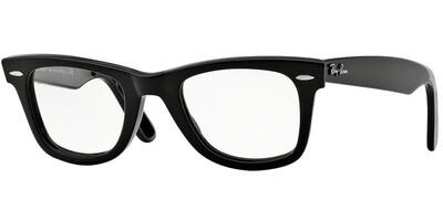 Dioptrické brýle Ray-Ban® model 5121, barva obruby černá lesk, stranice černá lesk, kód barevné varianty 2000.