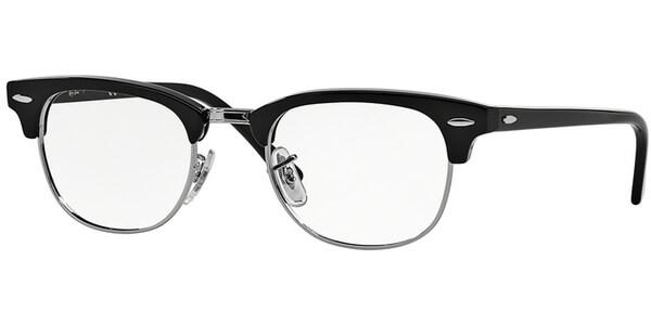 Dioptrické brýle Ray-Ban® model 5154, barva obruby černá stříbrná lesk, stranice černá stříbrná lesk, kód barevné varianty 2000.