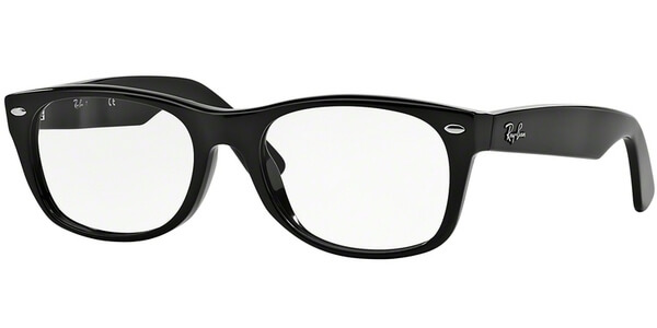 Dioptrické brýle Ray-Ban® model 5184, barva obruby černá lesk, stranice černá lesk, kód barevné varianty 2000.