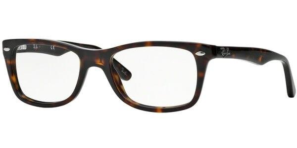 Dioptrické brýle Ray-Ban® model 5228, barva obruby hnědá lesk, stranice hnědá lesk, kód barevné varianty 2012.