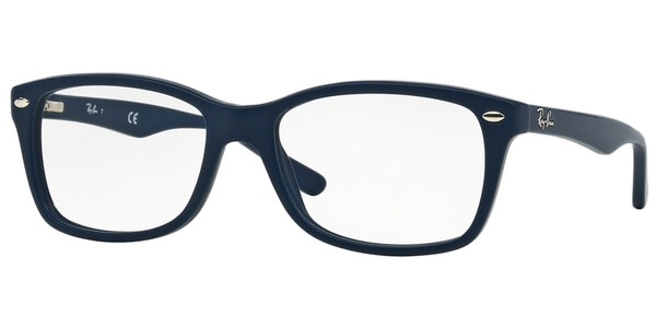 Dioptrické brýle Ray-Ban® model 5228, barva obruby modrá mat, stranice modrá mat, kód barevné varianty 5583.