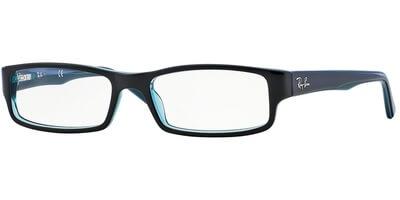 Dioptrické brýle Ray-Ban® model 5246, barva obruby modrá černá lesk, stranice modrá černá lesk, kód barevné varianty 5092.