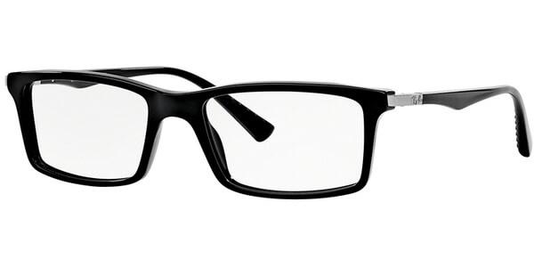 Dioptrické brýle Ray-Ban® model 5269, barva obruby černá lesk, stranice černá lesk, kód barevné varianty 2000.