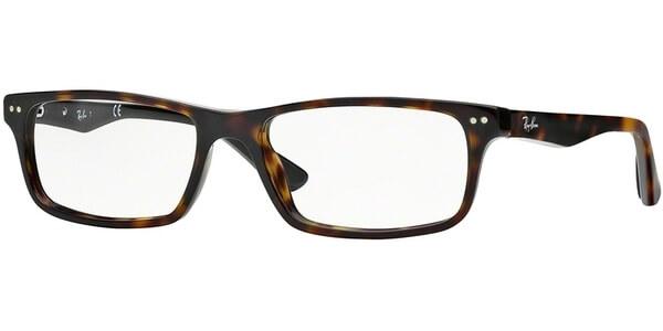 Dioptrické brýle Ray-Ban® model 5277, barva obruby hnědá lesk, stranice hnědá lesk, kód barevné varianty 2012.