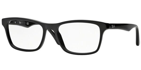 Dioptrické brýle Ray-Ban® model 5279, barva obruby černá lesk, stranice černá lesk, kód barevné varianty 2000.