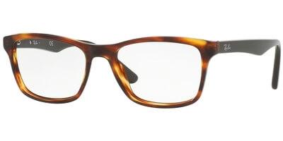 Dioptrické brýle Ray-Ban® model 5279, barva obruby hnědá lesk, stranice hnědá lesk, kód barevné varianty 5691.