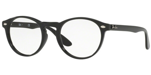 Dioptrické brýle Ray-Ban® model 5283, barva obruby černá lesk, stranice černá lesk, kód barevné varianty 2000.